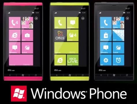 Hp Toshiba Windows Phone Is12t kddi and fujitsu introduce new windows phone is12t in
