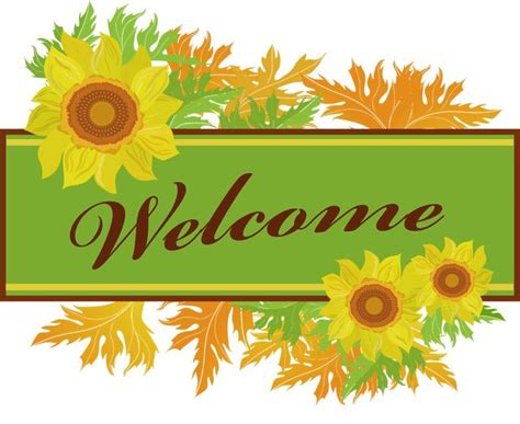 welcome clip welcome sign clipart clipground