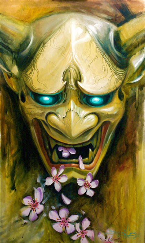 japanese devil mask tattoo designs japanese mask for hannya