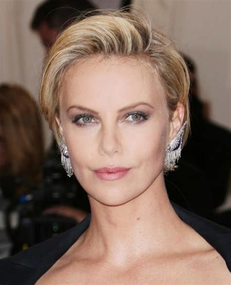 short old fashioned haircuts charlize theron sporting an the best celebrity bobs instyle com
