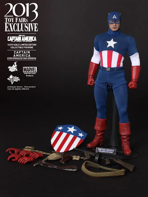 Captain America The Avenger Toys Exclusive toys captain america as spangled