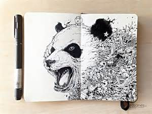kerby rosanes sketchbook new incredibly detailed pen doodles by kerby rosanes