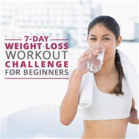 weight loss challenge for beginners 7 day weight loss workout challenge for beginners musely