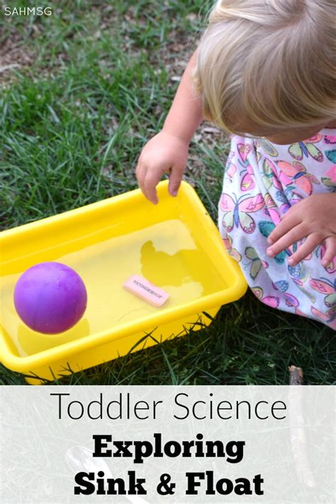 preschool science sink or float no time for flash science for toddlers sink and float activities the stay