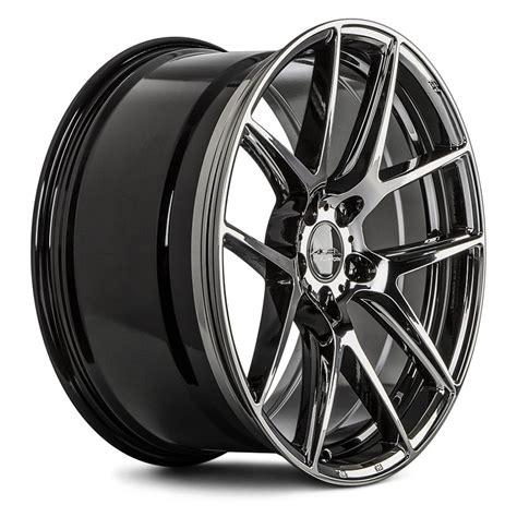 black chrome ace alloy 174 aff02 wheels black chrome rims