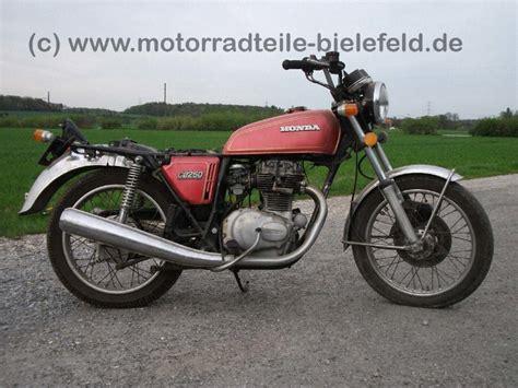 Motorrad Honda Gebrauchtteile by Honda Cb250g Motorradteile Bielefeld De