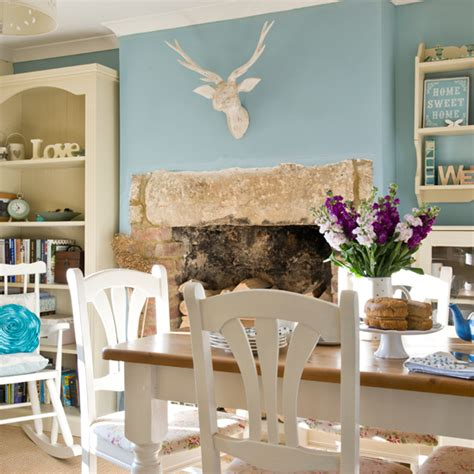 Duck Egg Blue Home Decor by Duck Egg Blue Dining Room Country Decorating Ideas