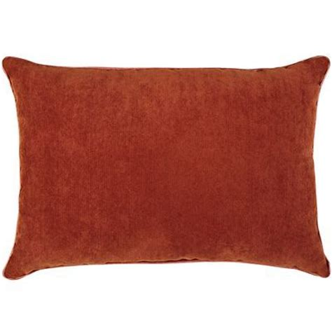 Rust Pillow by Bought 2 Burnt Orange Rust Pillows To Accent Brown Leather Sofa Color