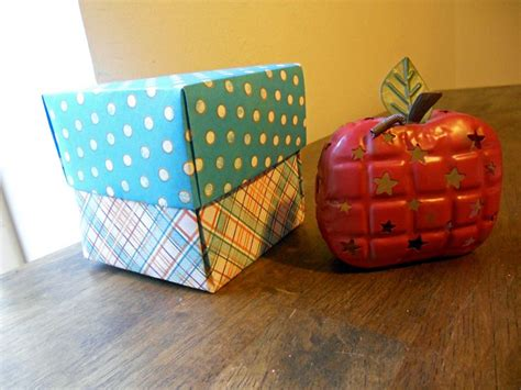 How To Fold A Paper Into 6 Boxes - how to fold an origami gift box