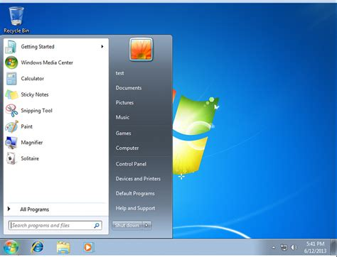 resetting hp windows 7 reset restore quot frequently used programs quot in start menu