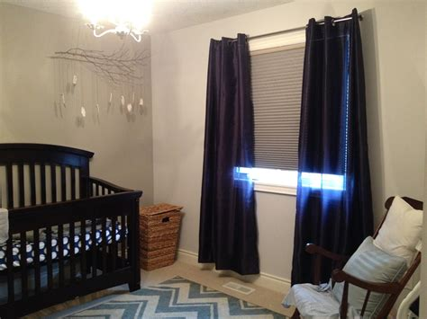 Dark Blue Curtains For Nursery Curtain Menzilperde Net Room Darkening Curtains For Nursery