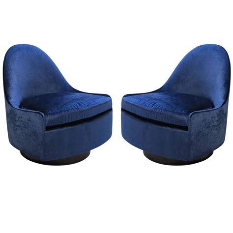 Milo Baughman Tilt Swivel Slipper Chairs Thayer Coggin Usa Swivel Slipper Chair