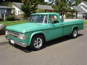Dodge 60s 1968 Dodge Up Truck Grocery Getter
