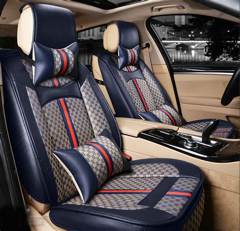 upholstery car seats buy wholesale luxury leather gucci print car seat covers