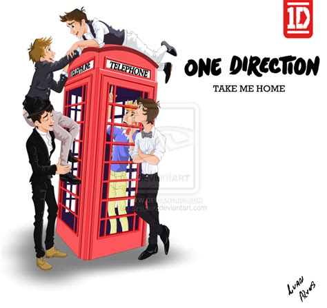 one direction take me home by braulino on deviantart
