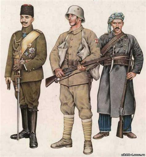 ww1 ottoman uniform ottoman officer turkish soldier and kurdish irregular