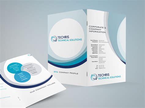 company profile catalogue design company profile design techris elevation design studio