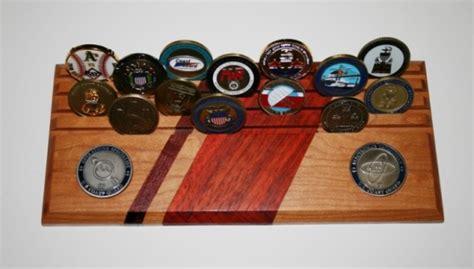 coast guard coin holderdisplay woodworking talk