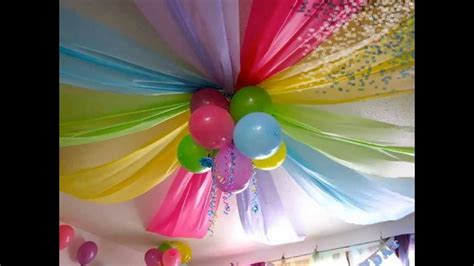 decoracion para cumplea 209 os infantiles youtube