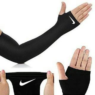 Baselayer Manset Nike Abu Abu manset baselayer tangan tumbhole grade ori arm sleeve