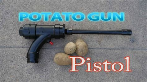 how to build a gun how to make a potato gun pistol funnydog tv