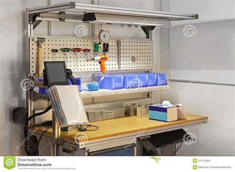 tech work bench technician workbench desk stock images image 37574384