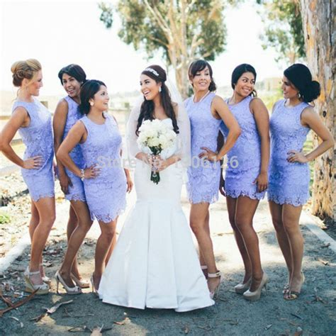 5 Bridesmaid Dresses For And Summer by Summer Lace Lavender Bridesmaid Dresses Gowns Simple