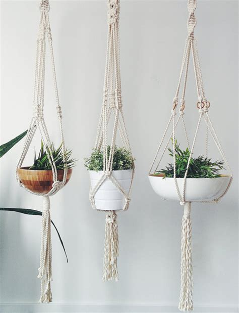 Where Can I Buy Macrame Plant Hangers - where can i buy macrame plant hangers 28 images black