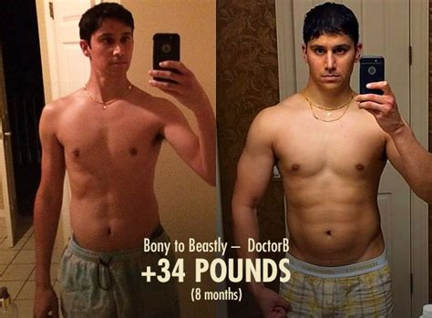 best ectomorph transformation 27 best bony to beastly ectomorph transformations images
