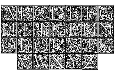 william anti william morris alphabet zen and anti stress coloring