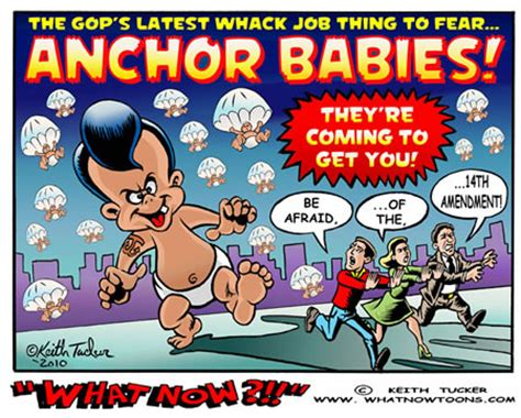anchor babies birthright citizenship and the 14th amendment political irony the threat of anchor babies