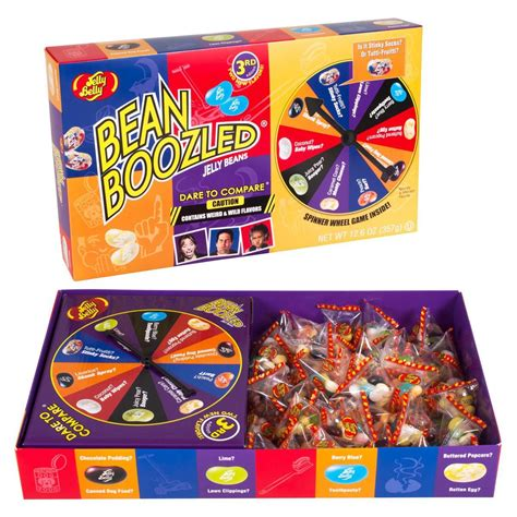 Jelly Belly Beanboozled Jelly Beans 3rd Edition beanboozled jumbo spinner jelly bean gift box 3rd edition