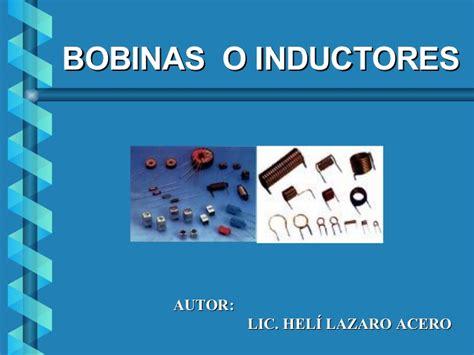 ejemplos de micro inductores de valor bobinas o inductores