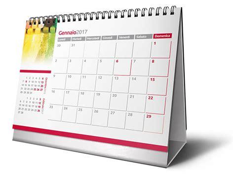 calendario scrivania calendario da tavolo personalizzato tecnografica