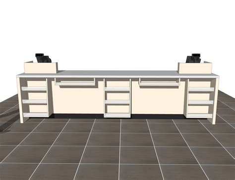 retail sales counter   models