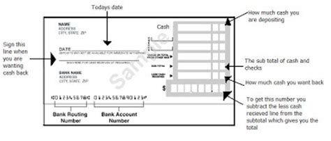 how to fill out a deposit ticket money basics managing a the adopted one how to fill out a deposit slip