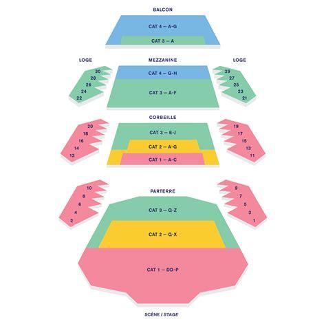place des arts seating chart theatre maisonneuve dialogues des carm 233 lites op 233 ra de montr 233 al
