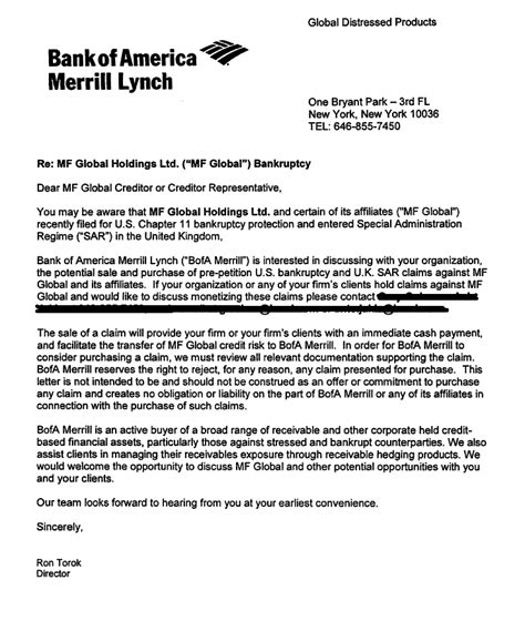 Bank Letter For Proof Of Funds S Caf 233 Am 233 Ricain A Message From The Banking And Brokerage System