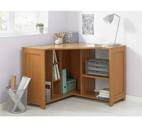 Oak Corner Desks For Home Buy Home Conrad Corner Desk Oak Effect At Argos Co Uk Your Shop For Desks And