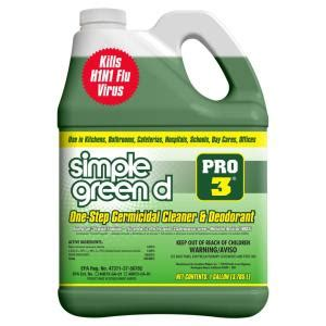 simple green pro   oz herbal pine professional grade disinfectant   home