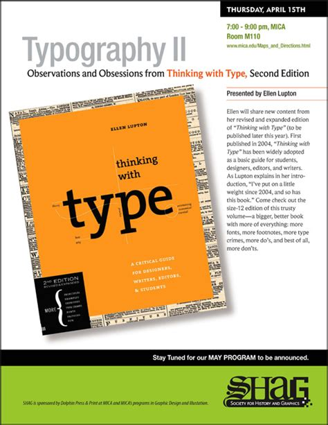 libro thinking with type second society for history and graphics shag past programs
