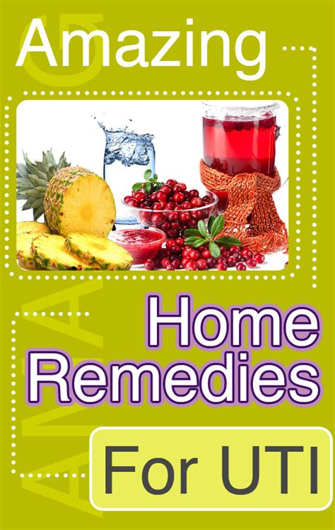 home cure for uti on uti home remedy home remedies