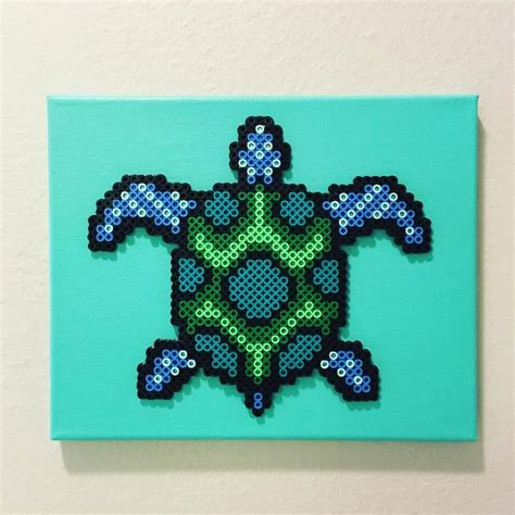 perler bead turtle pattern turtle perler by let there be pixels post it