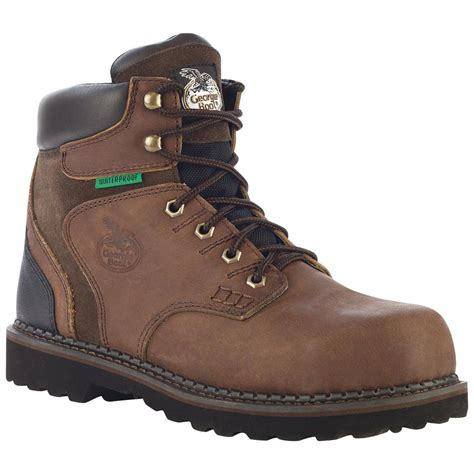 work shoes s boots 6 quot brookville steel toe waterproof