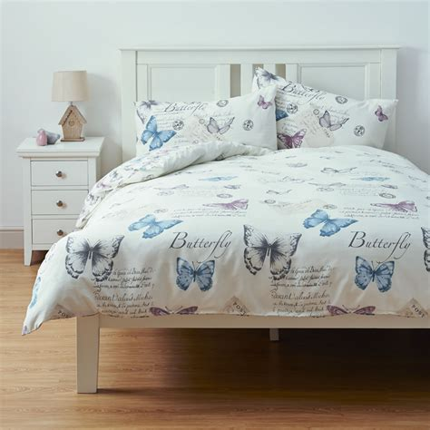Vintage Style Duvet Covers Wilko Duvet Set Double Heritage Butterfly At Wilko Com