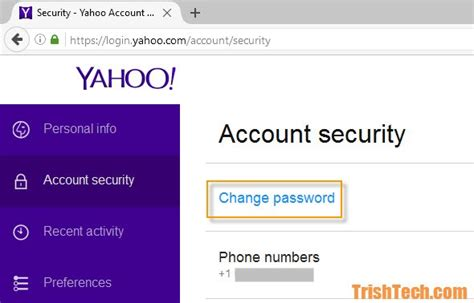 android reset yahoo password tighten yahoo account security and enable yahoo account key