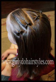 little moe hair style waterfall headband into a bun tutorial at http www