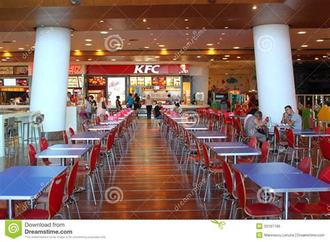 Fast Food Restaurant Floor Plan Customers Buying Fast Food At Kfc Editorial Photo Image