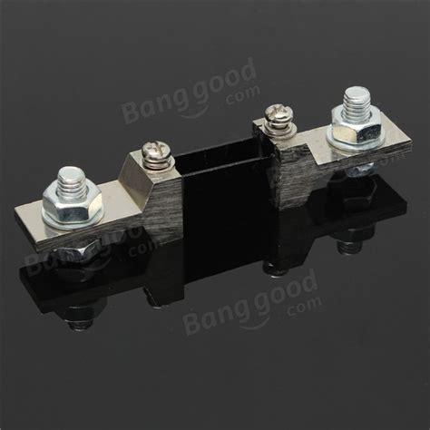 shunt resistor voltage divider 200a 75mv dc analog current meter divider shunt resistor for meter ammeter sale banggood
