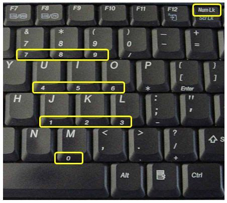 3 methods to disable numlock on a laptop keyboard